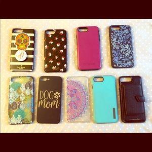 Accessories - iPhone 8/7Plus Cases Lot